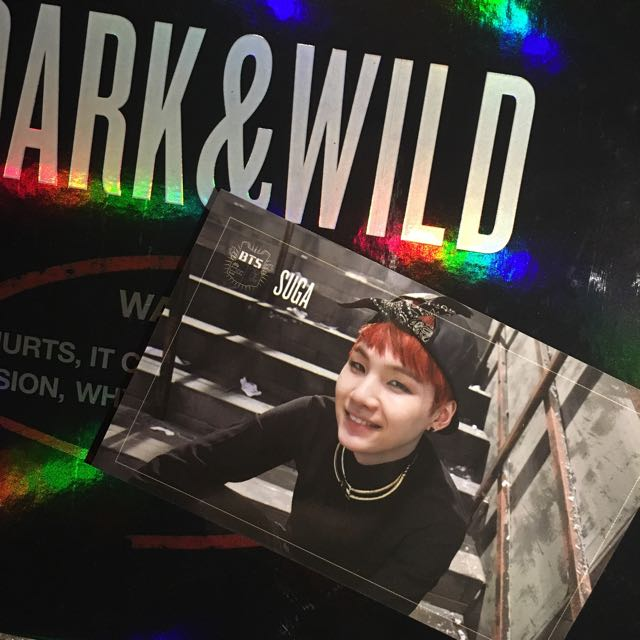 [WTT] BTS Suga/Yoongi Dark & Wild Photocard