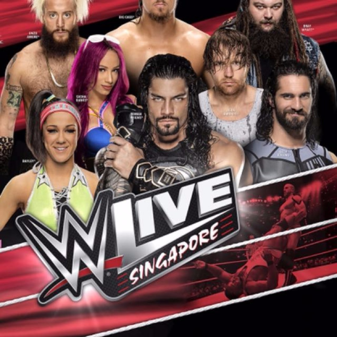 Wwe live singapore meet greet passes tickets vouchers event photo photo photo kristyandbryce Image collections