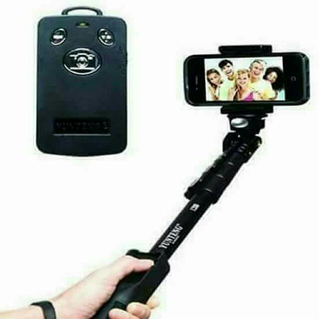 Yunteng Monopod With Bluetooth Remote Control