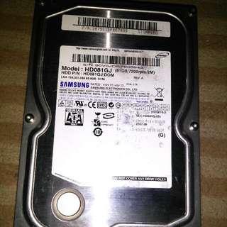 Hardisk Samsung 80GB