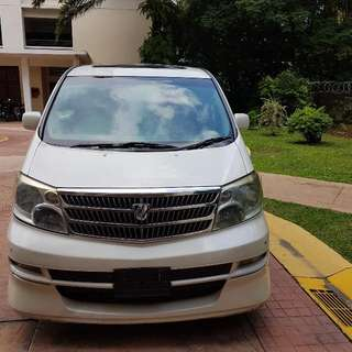 Alphard 3.0 MG Spec 2008