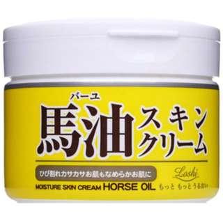 全新到貨💥日本熱銷 北海道 LOSHI 馬油保濕乳霜 220g