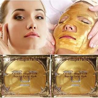 Gold Gel Face Mask