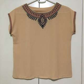 Bodo Sheer Top