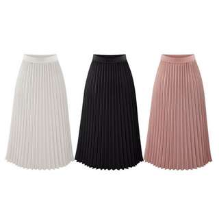 Zara Inspired Pleated Skirt