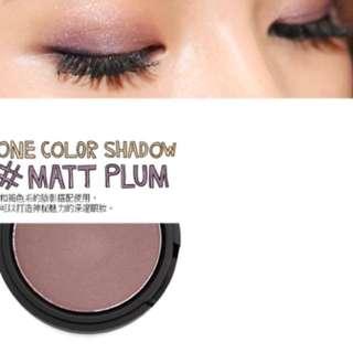 🇰🇷樂天百貨購入 3ce霧面眼影 #Matt Plum 只有試色