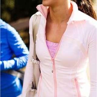 Lululemon Define Jacket (Light Pink) SIZE 4