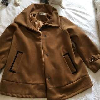 Oversized Coat 3/4 Length Sleeves