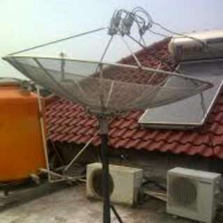Pasang Parabola Antena Dan Cctv