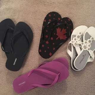 Flip Flops And Sandles