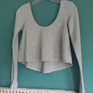 Urban Outfitters Kimchi Blue Crop Shirt