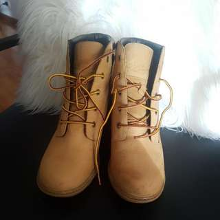 Timberlands Wedge Boot