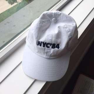 white brandy melville baseball cap