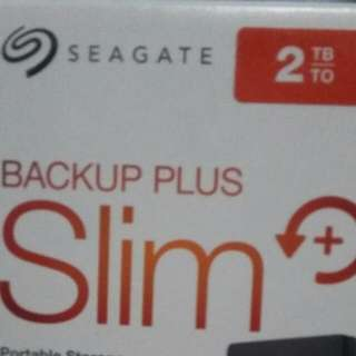 Seagate 2TB (Sealed)