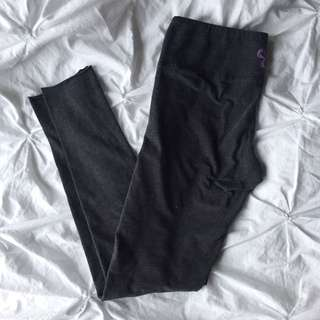 tna (aritzia) grey cotton leggings