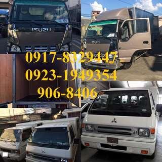 van for rent for lipatbahay.delivery cargo. L300 fb van/ Isuzu truck