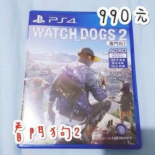 看門狗2 ps4 遊戲