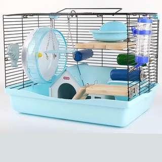 🔆carno huge syrian hamster 1 tier bar cage