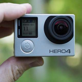 Rent / Rental: Go Pro Hero 4 Silver Camera
