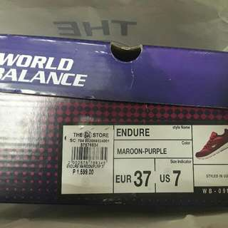 World Balance Shoes