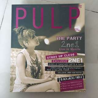 Pulp 2ne1 & SJ 2011 Issue Back To Back