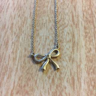Karen Walker Bow Necklace