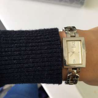 Guess Watch Silver
