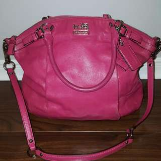 Coach Pink Large Purse