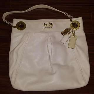 Coach Medium White Sized Purse