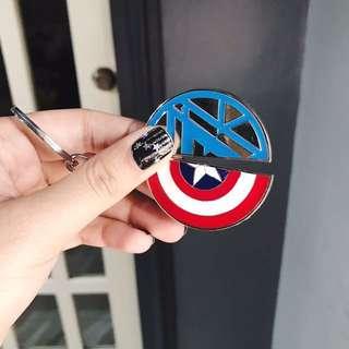 Civil War Keychains