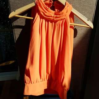 Orange Top Size 8