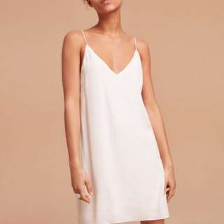 Aritizia Vivienne Dress In White