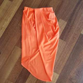 Orange Morning Mist Skirt Size 8