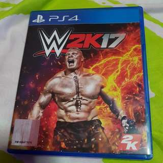 TRADES ACCEPTED!! PS4 WWE 2K17