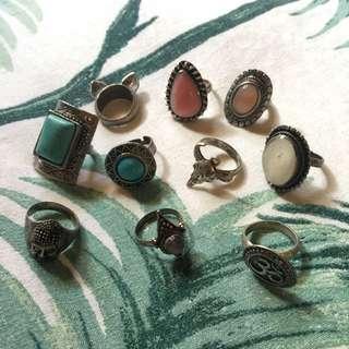 Assortment Of Rings