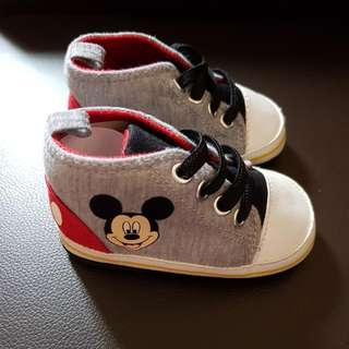 Mickey Mouse Shoes 9-12M