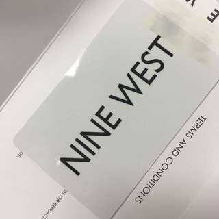 NINE WEST GIFT CARD $135