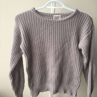 SIZE XS AMERICAN APPAREL FISHERMEN KNIT SWEATER