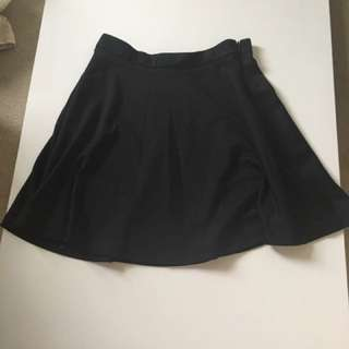 SIZE S BLACK SKIRT
