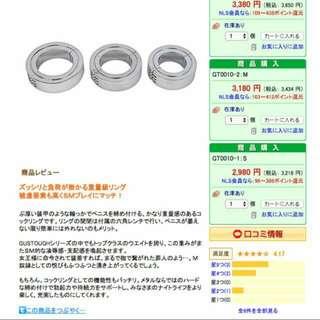 日本鋼製男性屌環,上鎖式【M號45mm】