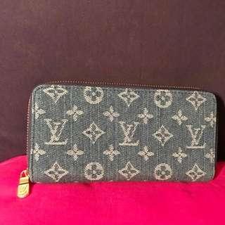 Louis Vuitton Denim Wallet