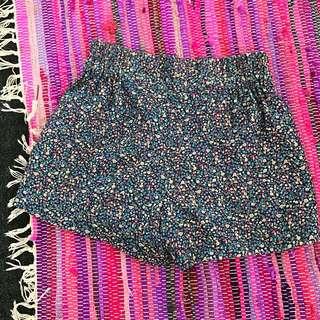 Princess Highway High-waisted Floral Shorts