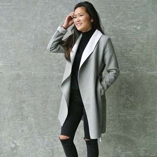 Grey Cotton Coat