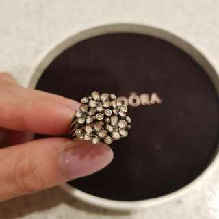 Pandora - Floral Ring - Size 50