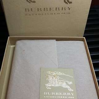 *NEW*  Burberry 香檳金全白Notebook