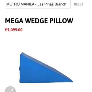 Mandaue Foam Wedge Pillow Repriced 380