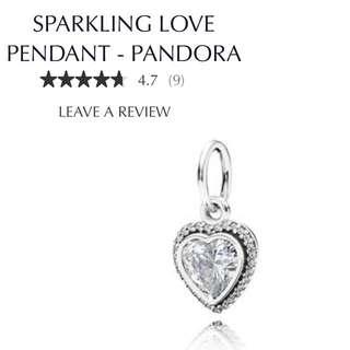 Pandora Love Pendant Necklace