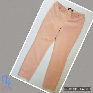 Zara blush skinny trousers. Never used but laundered once.