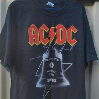 AC DC 2010 World Tour Band Tee