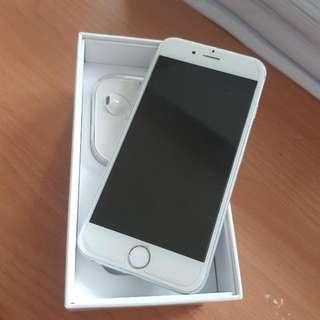iPhone 6 64GB White Silver MODELA1586 SILENT CAMERA Bisa